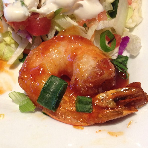 Asian Glazed Shrimp