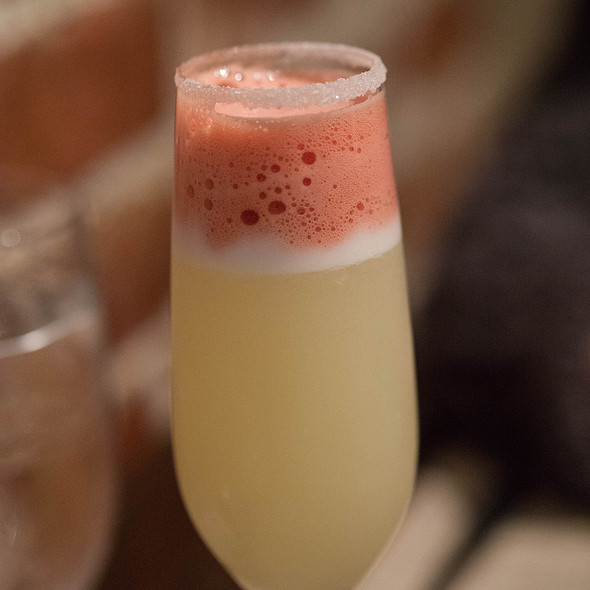 Blood Orange Pisco Sour - Naschmarkt Restaurant, Campbell, CA