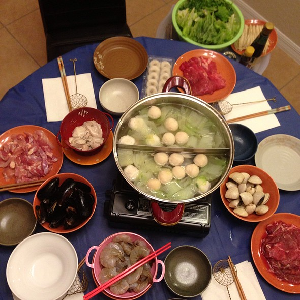 Hot Pot Surprise Dinner