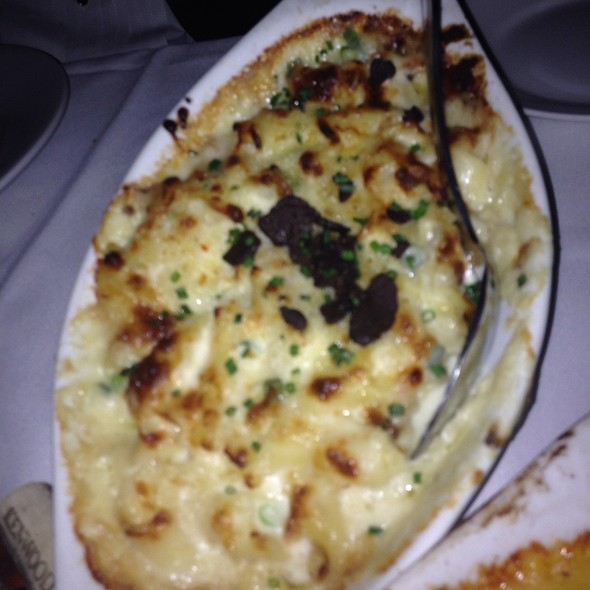 Truffled Mac and Cheese - Eddie V's - 5th Street, Austin, TX