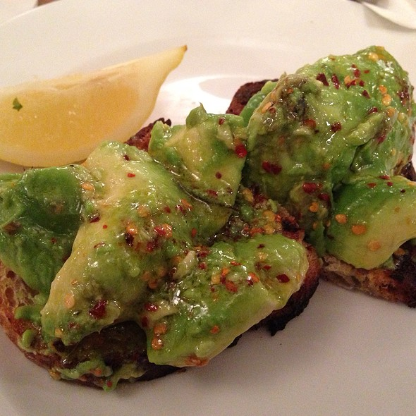 Toast Avocado Chilli