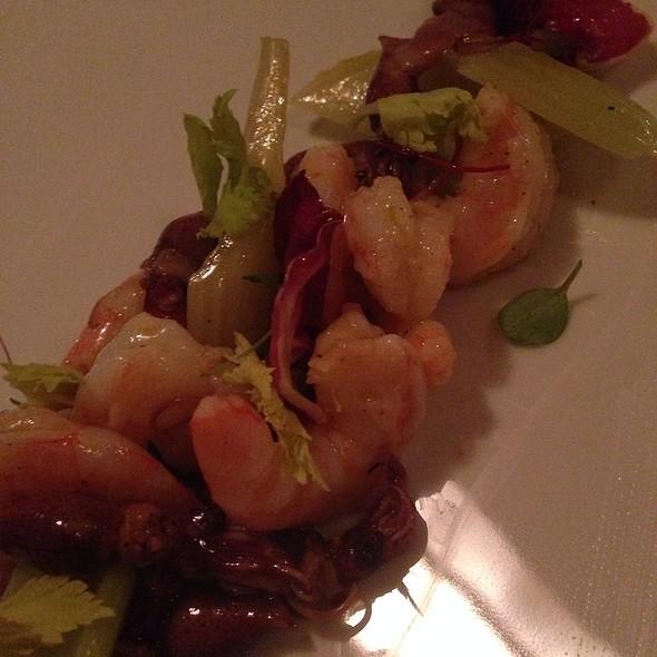 Shrimp! - Perbacco, San Francisco, CA