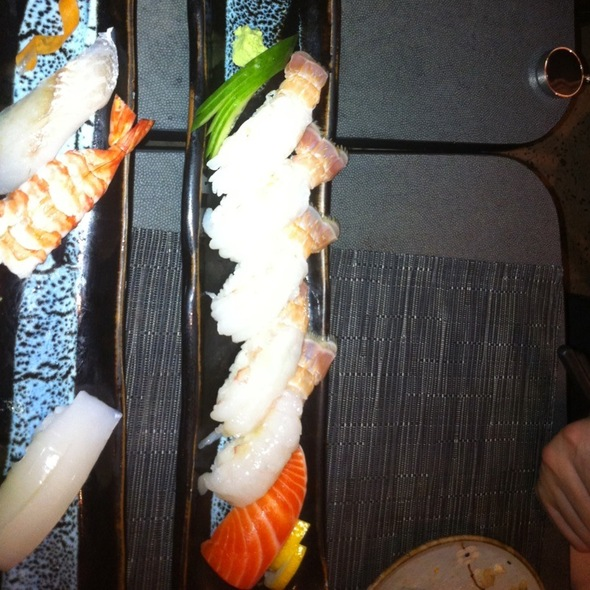 Scampi Sushi