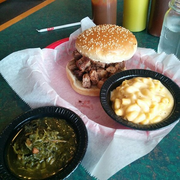 Burnt ends @ Big Rascal Pit BBQ and Grille