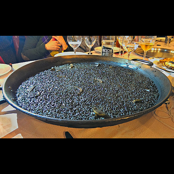 Squid Ink Paella @ Los Arroces de Segis