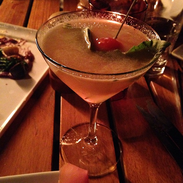 Caprese Martini Cocktail