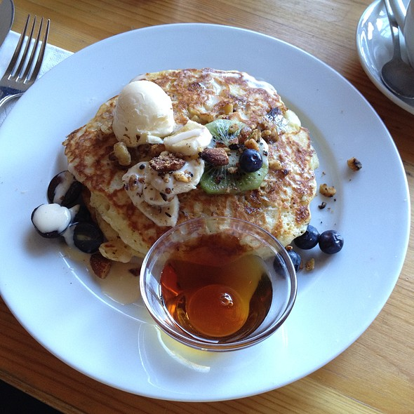 Banana And Walnut Pancakea