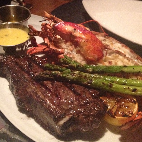 Bone In Ny Strip With Lobster - The Barrymore - Inside Royal Resort Las Vegas, Las Vegas, NV