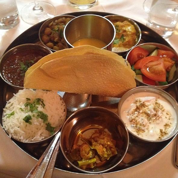 Punjabi Thali @ Zaffran