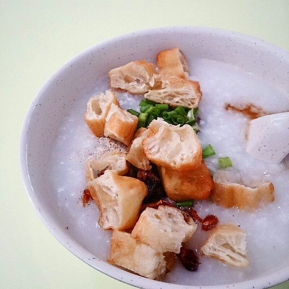 Porridge With Century Egg @ Holland Drive Market and Food Centre