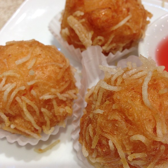 Deep Fried Shrimp Balls @ Dragon Boat Fusion Cuisine