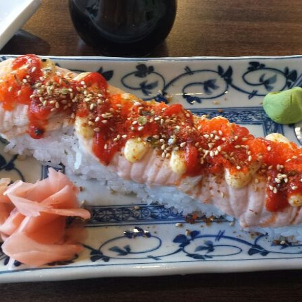 Baked Salmon Roll @ Acme Express
