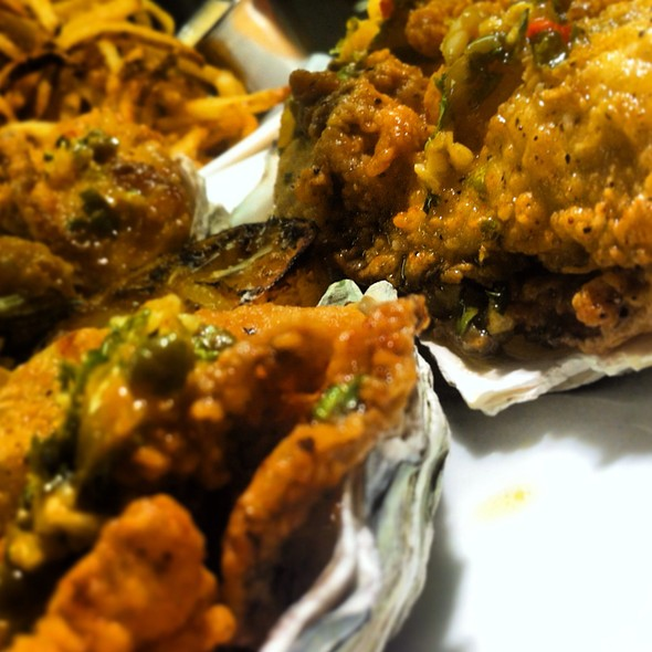 fried oysters - Pacific Table, Fort Worth, TX
