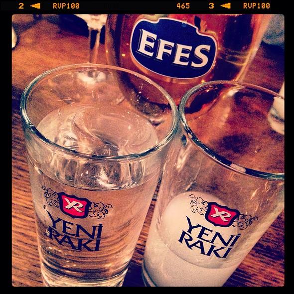 Raki & Efes Beer