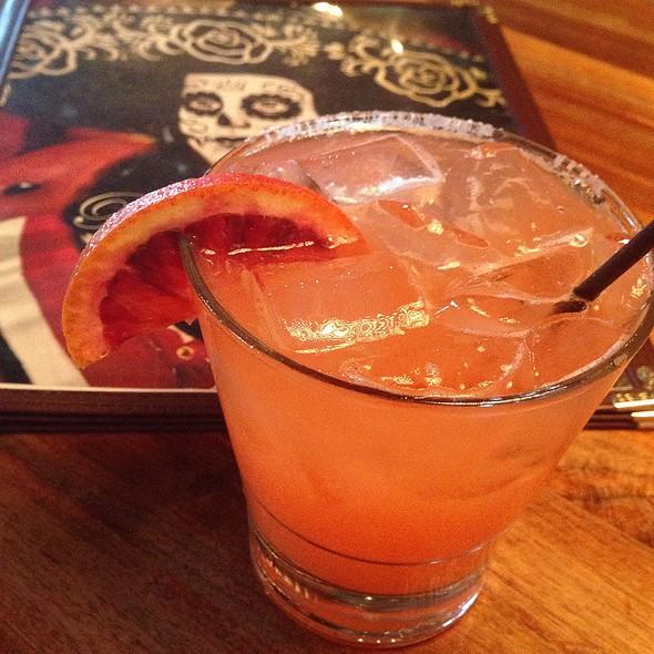 Blood Orange Margarita @ Barrio Queen Tequileria Restaurant and Bakery