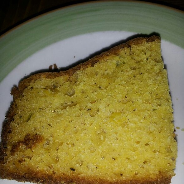 Corn Bread - Lucy's Seafood Kitchen, Mississauga, ON