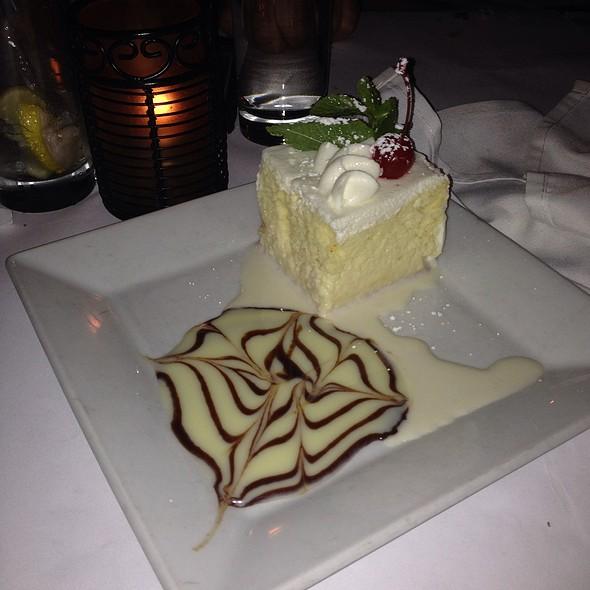 Tres leches Spanish dessert, Cuban rum, pineapple and 'tres leches' ice cream @ Guantanamera