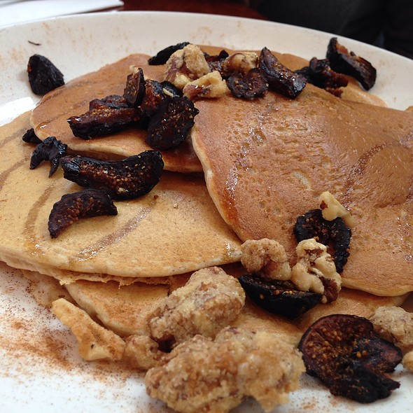 Fig And Walnut Multi-Grain Pancakes