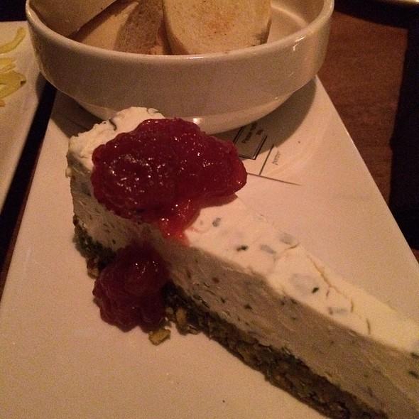Savoury cheesecake - PORT, Pickering, ON