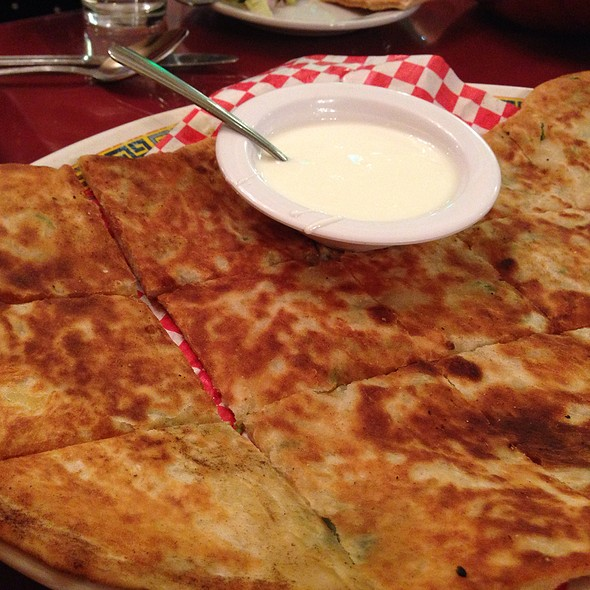 Afghan Bolani (Filled Flat Breads)