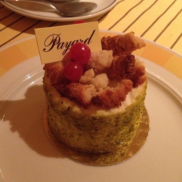 Pistachio Cake. - Payard Patisserie & Bistro - Caesars Palace Las Vegas, Las Vegas, NV