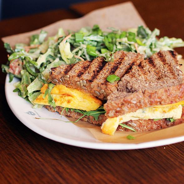 Truffle Egg Salad Sandwich @ Spreegold Gmbh
