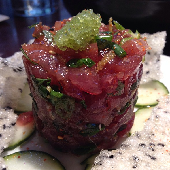 Ahi Tartare - Va de Vi Bistro & Wine Bar, Walnut Creek, CA