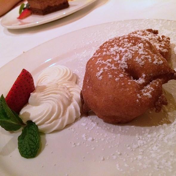 Cinnamon Apple Beignet With Chantilly - Maison Akira, Pasadena, CA