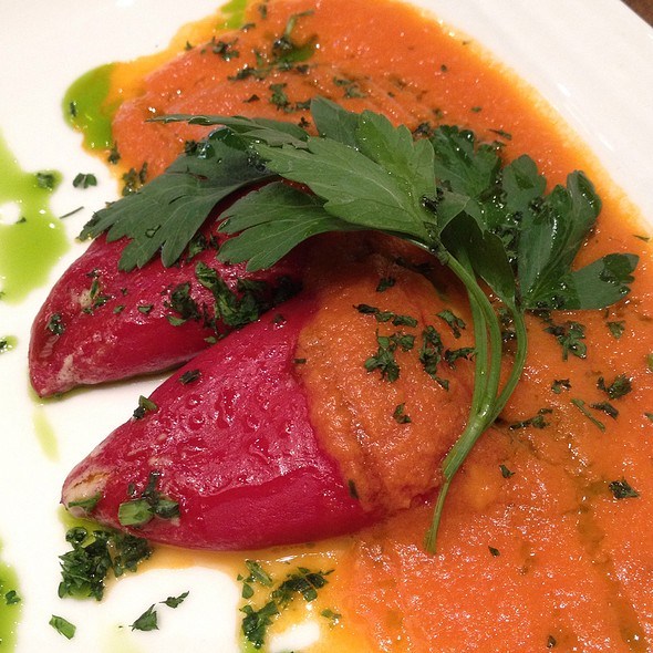 Stuffed Piquillo Peppers @ Julian Serrano Tapas