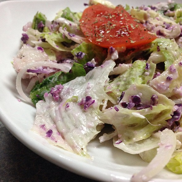 Mini Greek Salad @ Acropolis Pizza