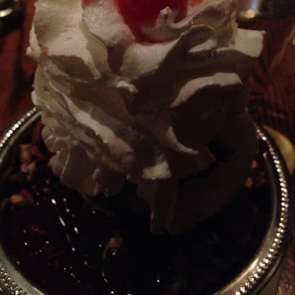 Bacon Brownie Sundae - Mrs. Murphy & Sons Irish Bistro, Chicago, IL