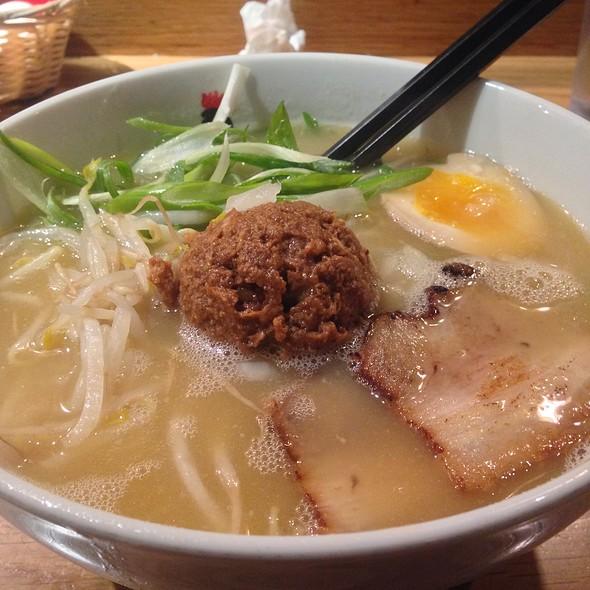Miso Ramen @ Totto Ramen