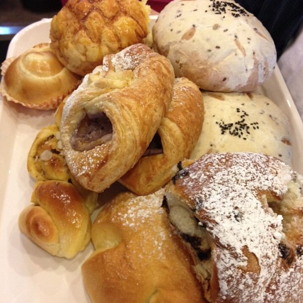 Tray Of Goodies @ 85° Bakery And Cafe