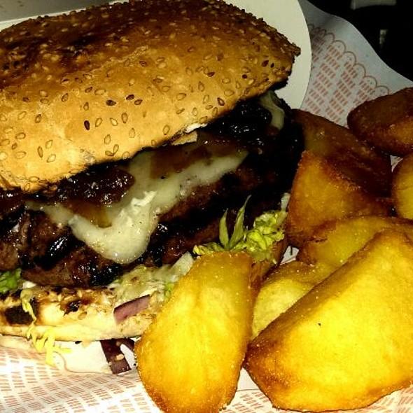 Hamburguesa Manchega @ Bacoa