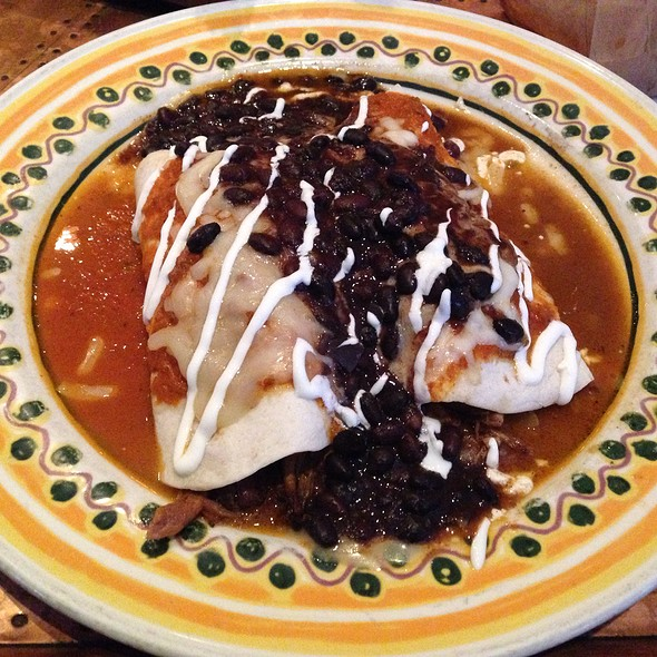 """Pulled Pork """"Wet Burrito"""" Style - Lopez Southwest Kitchen, Cleveland Heights, OH"""