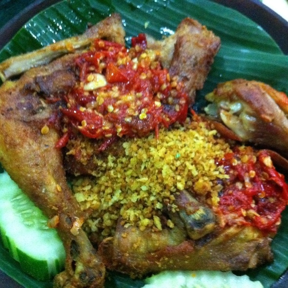 Ayam Kampung Penyet