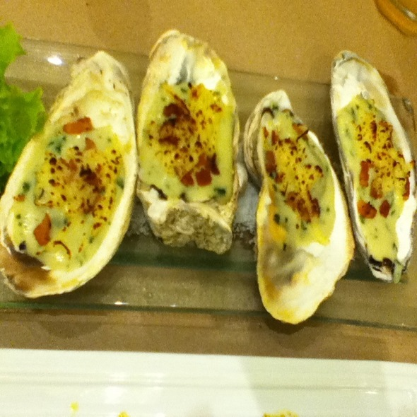 Oyster Rockefeller @ Fish Out Of Water