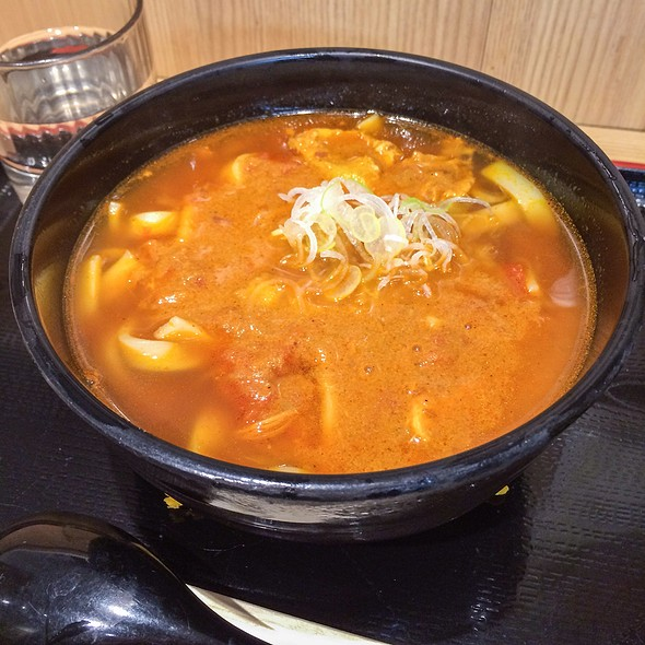 Curry Udon @ よもだそば 銀座店