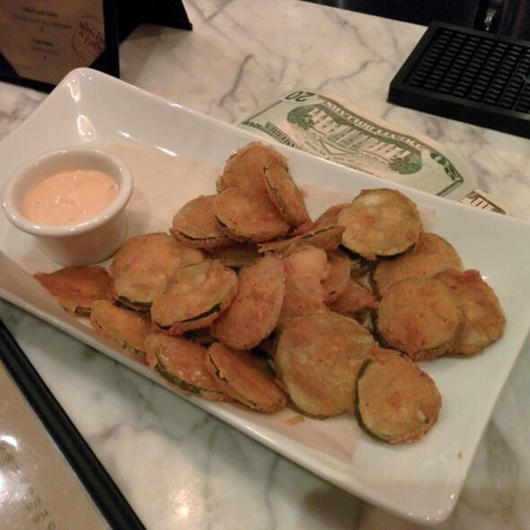 Fried Pickles @ Whitman And Bloom