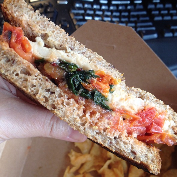 Mediterranean Sandwichl - The Smile, New York, NY