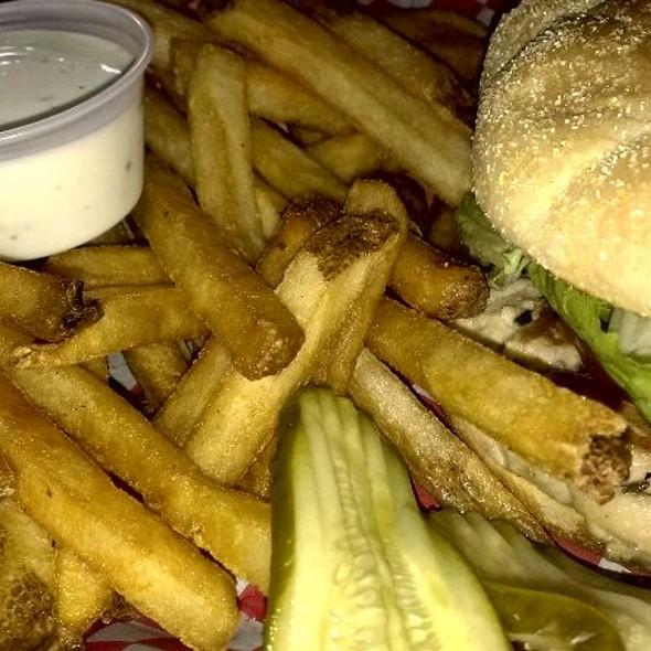 Chicken Breast Sandwich @ Nine Pound Hammer LLC
