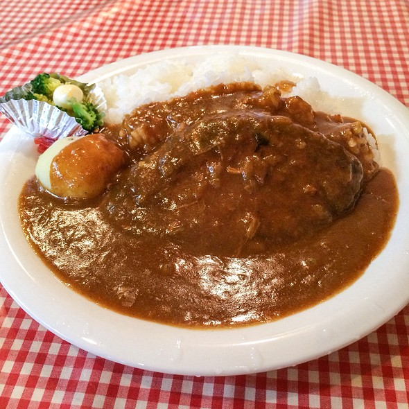 Curry Rice With Humburger @ れんが家