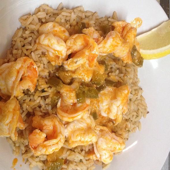 Buffalo Shrimp Appetizer @ KrisCroix's family restaurant