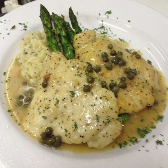Chicken Piccata @ The Legend Classic Irvington Cafe