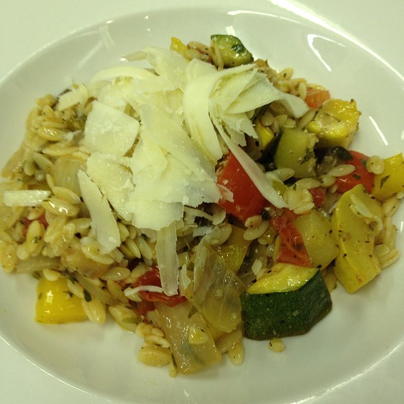 Ratatouille With Orzo @ The Legend Classic Irvington Cafe