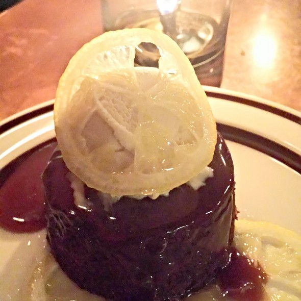 Sticky Date Pudding - Park Kitchen, Portland, OR