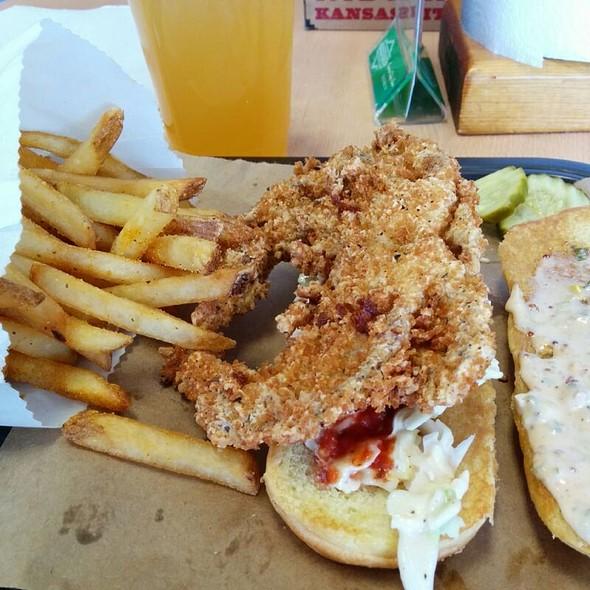 Softshell Crab @ Oklahoma Joe's BBQ & Catering