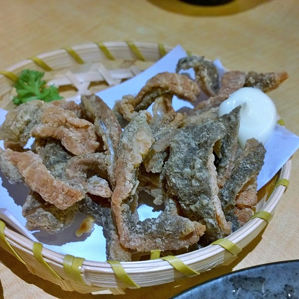 Deep Fried Salmon Skin