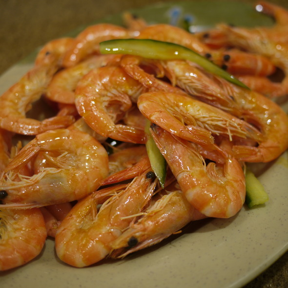 Cold Shrimp in Chili Oil