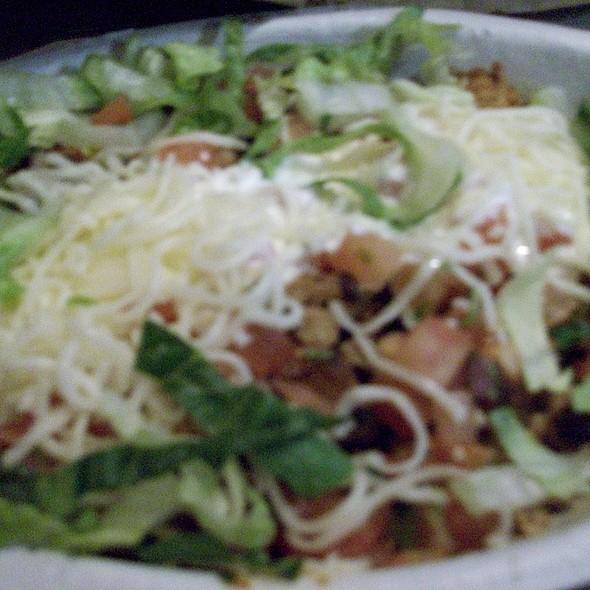 Chicken Fajita Bowl @ Chipotle Mexican Grill